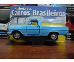 Miniatura Ford F 100 Classicos Nacionais Nova Lacrada