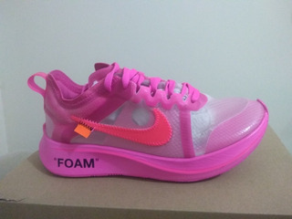 Nike Zoom Fly X Off White - Rosa 35/36