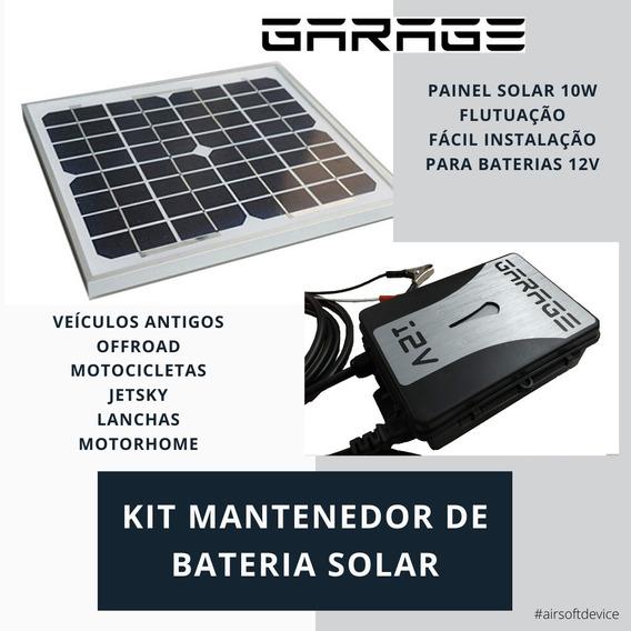 Kit Solar Mantenedor De Bateria Offroad Antigos Harley Moto