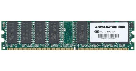 Memoria Ram Atp Ag28l64t8shb3s 1gb Ddr 333 Mhz Pc2700
