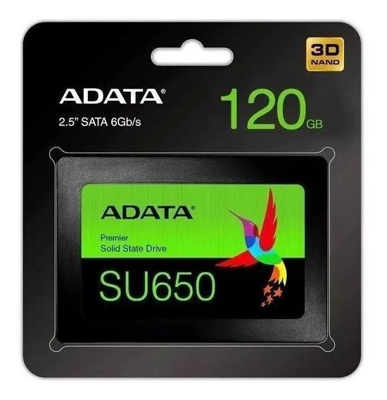 Ssd Adata Su650, 120gb Sata 6 Gb/s 520/450 Mb/s
