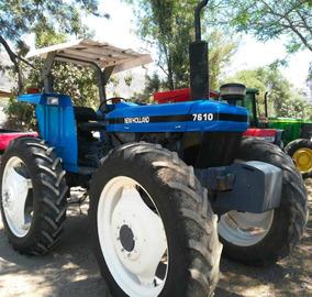 Tractor Agricola New Holland 7610 4wd 105 Caballo Oportunida