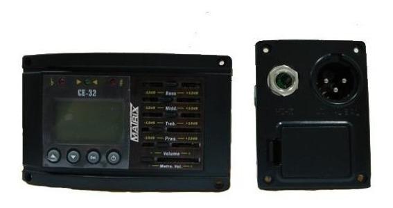 Ecualizador Matrix Ge-32 P/guitarra Acústica O Clásica
