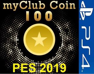 Pro Evolution Soccer 2019 - 100 Myclub Coins Ps4