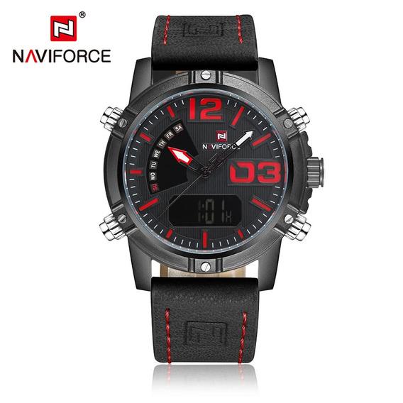 2 Naviforce Nf9095m Dual Visualización #reloj