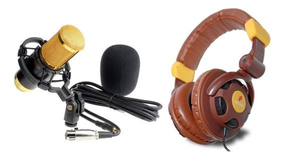 Kit Fone Para Estudio + Bm800 Plus Waver 2020!