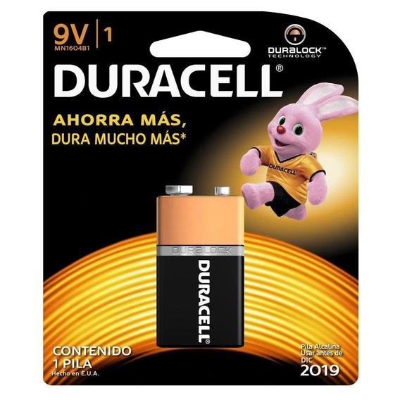 Pila Duracell Alcalina 9v Mn1604b1