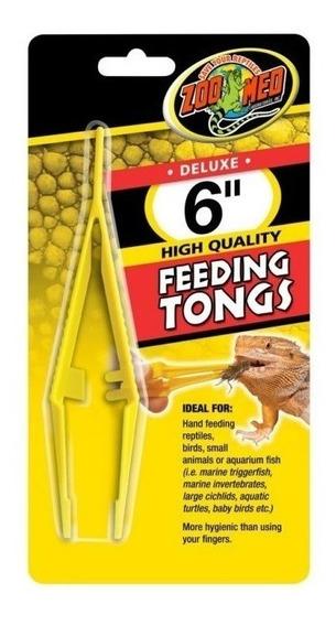 Pinça Plástica Alimentação Répteis E Peixes - Ta-20 Zoomed