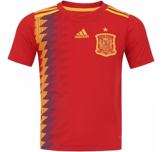 Camisa adidas Espanha I Copa 2018 - Original