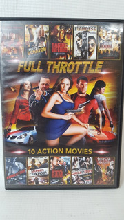 Full Throttle 10 Peliculas Accion 2 Dvd M021