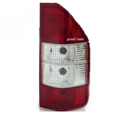 Lanterna Traseira Sprinter 97 Ate 2012 Lado Direito Bicolor