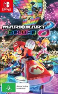 Mario Kart 8 Deluxe N Switch Envío Gratis Juego Físico