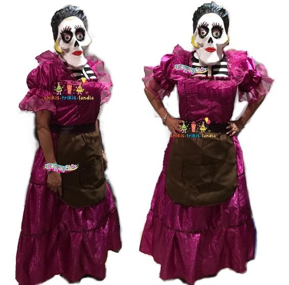 Catrinas Mexicanas Vestidos Disfraces Y Botargas En