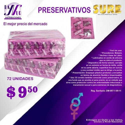 Preservativos Sure Al Granel