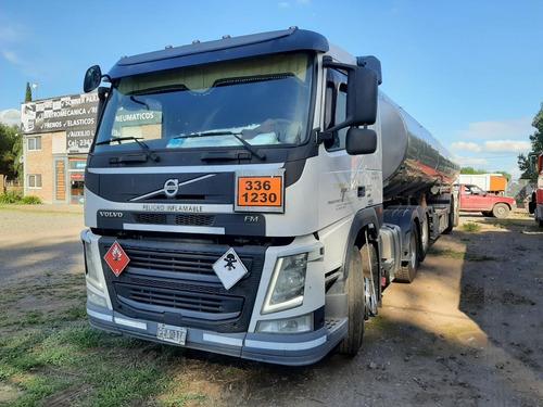 Equipo Enganchado Camión Volvo 370 Y Tanque Indecar
