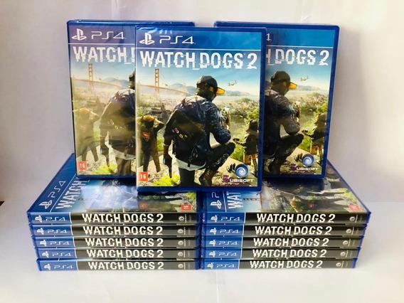Jogo Watch Dogs 2 Ps4 Original Mídia Física Pronta Entrega