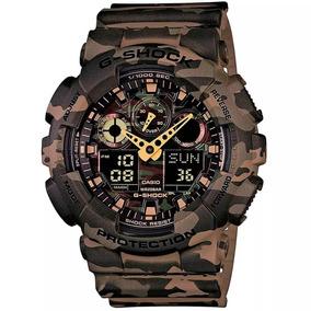 Relógio Casio Masculino G-shock Ga-100cm-5adr 10899 Origina