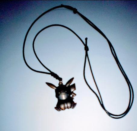 Colar Cordão Ajustável Do Pikachu