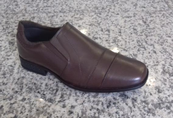 Sapato Social Masculino Couro - 2206choc