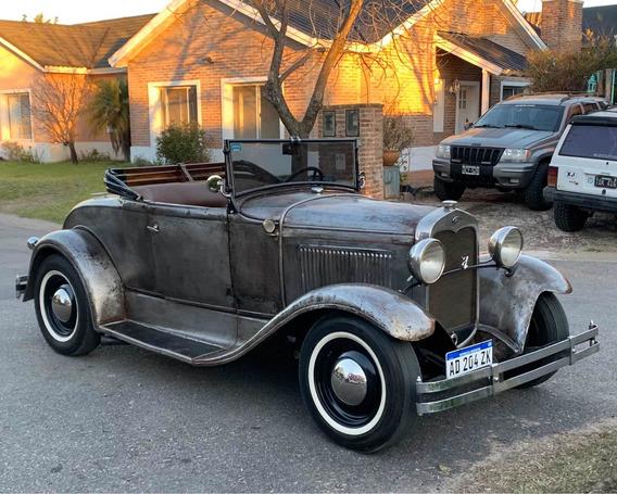 Ford A 1931 Roadster Con Flathead V8 A Nuevo