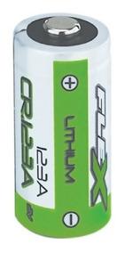 Bateria 3volts Fx-cr-123a Cartela 1 Peça Flexgold