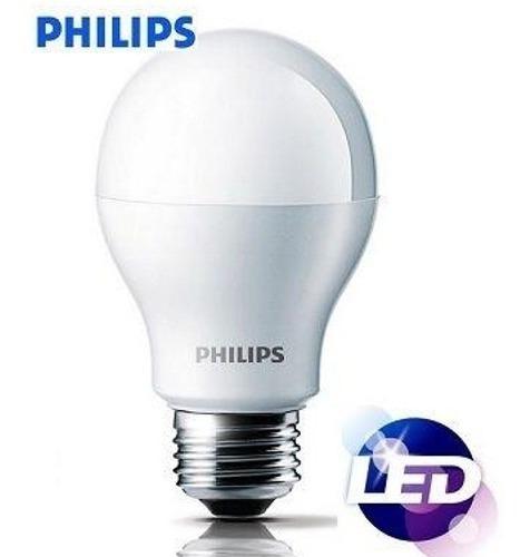 Kit 100 Lâmpada Led Bulbo 8w = 60w 110-220v Original Philips