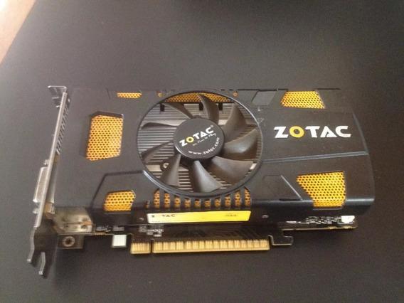 Nvidia Geforce Zotac Gtx 550 Ti 1gb Ddr5 (60vds)