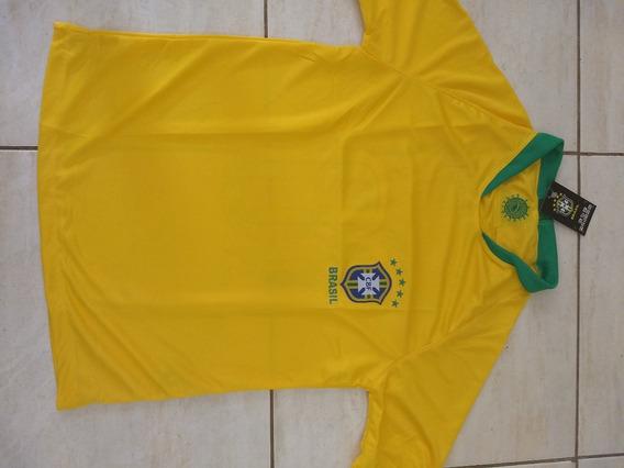 Camisa Seleção Brasileira Copa 2018 Adulto Feminina
