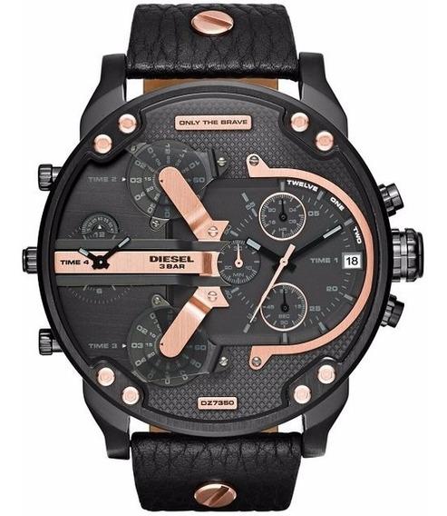 Relógio Diesel Chronograph Dz7350 - Original Com Certificado