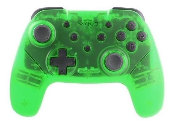 Control joystick Nyko Wireless Core Switch verde