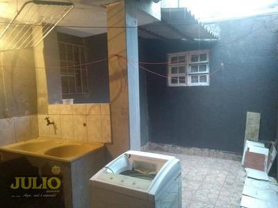 Casa Residencial Para Locação, Jussara, Mongaguá - Ca3356. - Ca3356
