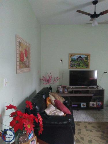Casa Com 4 Dorms, Parque Continental, São Vicente - R$ 300.000,00, 253m² - Codigo: 10590 - V10590