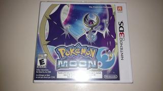 Pokémon Moon 3ds Sellado