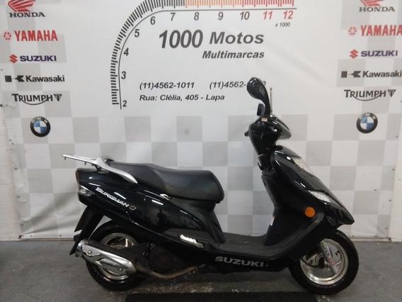 Suzuki Burgman 125 2017 Otimo Estado Aceito Moto