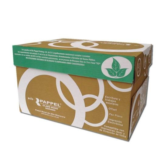 Papel Reciclado Bio Pappel Oficio 92% Blanco 75gr C/5000 H