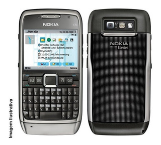 Nokia E71 Preto - 3mp C/ Flash Só Funciona Vivo - Exposição