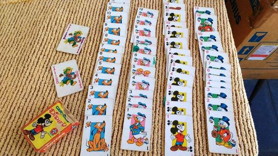 Baralho Infantil Cartões Disney Estrela 1980