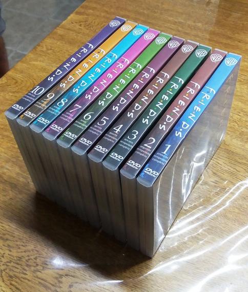 Box Friends Completo - 40 Dvds Com Dublagem Em Português