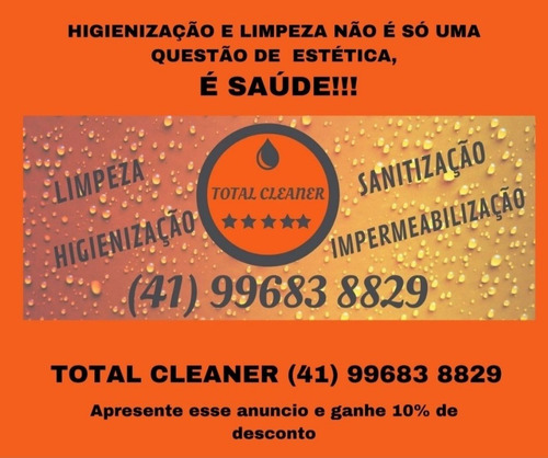 Imagem 1 de 5 de Limpeza/higienização  E Impermeabilização