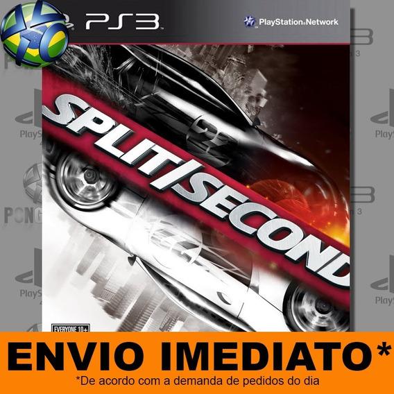 Jogo Ps3 Split Second Psn Play 3 Envio Digital Psn