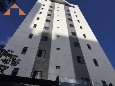 Apartamento Com 1 Dormitório À Venda, 30 M² Por R$ 211.000 - Graças - Recife/pe - Ap1572