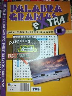 Pack De Revistas De Sopa De Letras.