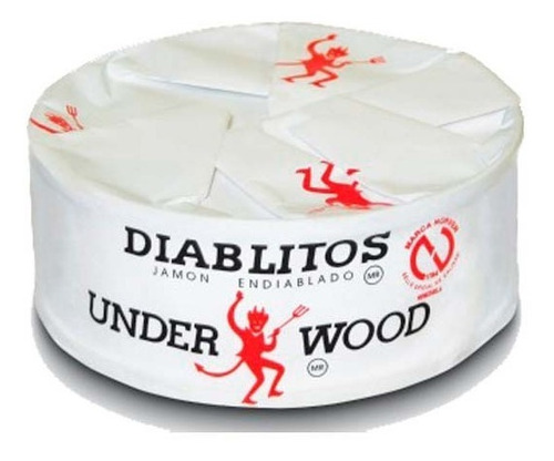 Diablitos Underwood Jamón Endiablado Producto Venezolano Peq
