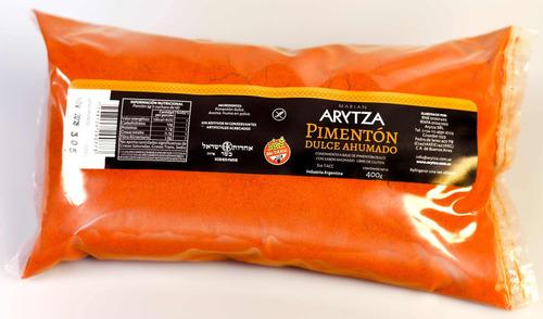 Pimentón Ahumado Dulce Arytza 100% Puro Natural - 400g