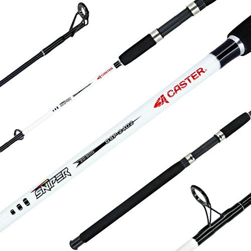 Caña Pescar Caster Sniper 2.70m Spinning Variada Rio 20-80gr
