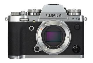 Cámara Fujifilm X-t3 Cuerpo, Silver (13210)