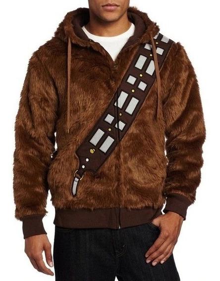 Campera Hoodie Chewbacca Star Wars Como Nueva Hombre