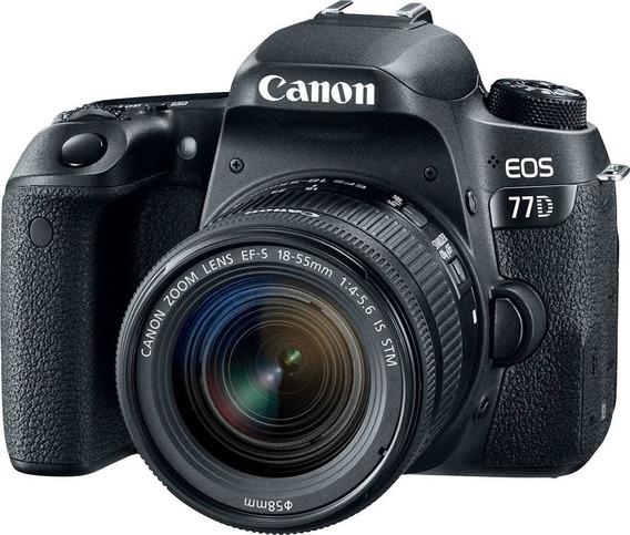 Camara Canon 77d (18.135mm)