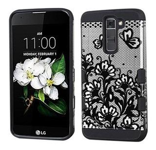 Mybat Teléfono Celular Para Lg Tribute K7 retail Packaging