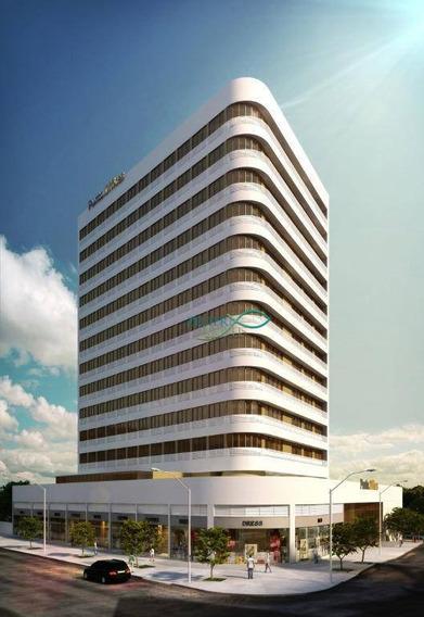 R$ 800 - Sala Comercial No Punto Offices - 26 M² - De Frente - Sa0066